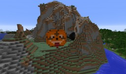 Funny Smiling Cookie Minecraft Map & Project
