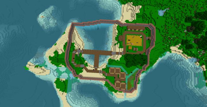 Zombie Apocalypse Map Minecraft Project