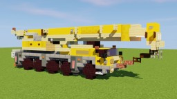 Liebherr Mobile Crane Minecraft Map & Project