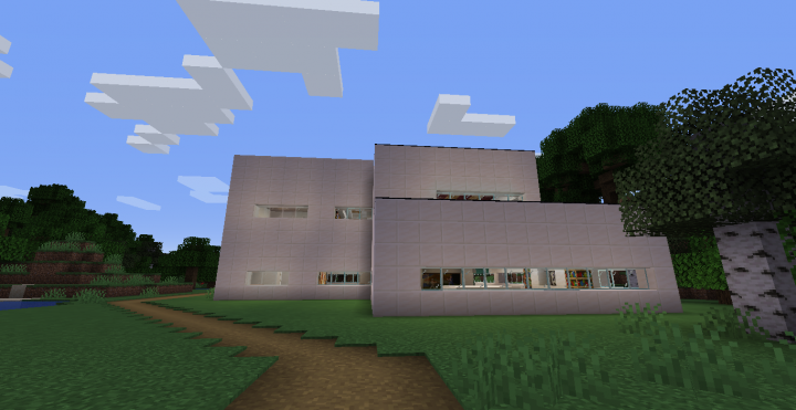 The first ever screenshot of Republic of Domolas, showing the Domolas First House.