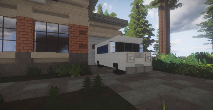 Dalewood Post Office And Fire Station Minecraft Project
