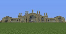Gare du Nord Minecraft Map & Project