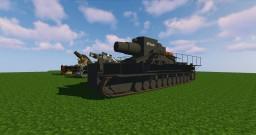 DISCONTINUED - MCHeli 60cm Karl Geraet 040 Heavy German WW2 Mortar Content Pack [1.7.10] Minecraft Mod
