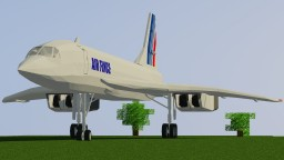 [1.7.10] MCHeli Concorde Supersonic Passenger Airliner Content Pack Minecraft Mod