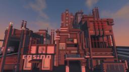A Futuristic Timezone Minecraft Map & Project