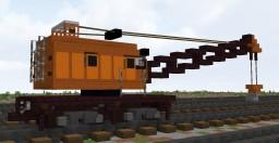 Railway crane КЖДЭ-16 Minecraft Map & Project