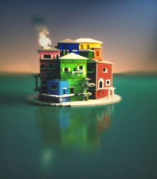 Just a few colorful buildings. Minecraft Map & Project