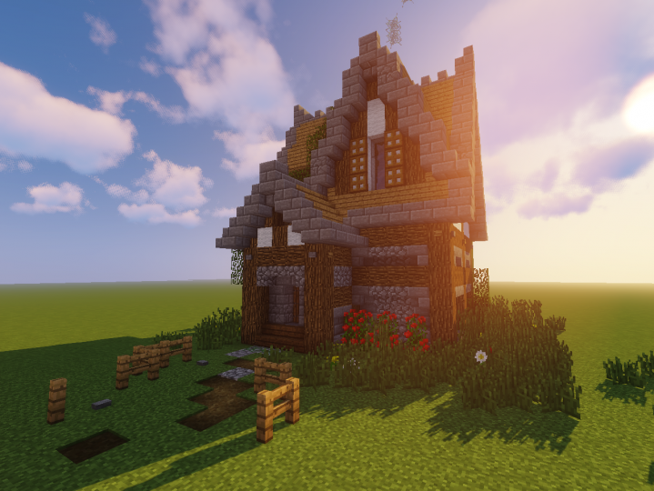 The fantasy w&d cottage. Pretty good housing for what it is.