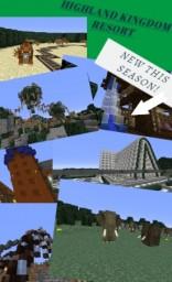 HIGHLAND KINGDOM RESORT - Minecrafts largest Theme Park Resort Minecraft Map & Project