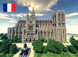 Notre-Dame Cathedral - Fr Minecraft Map & Project