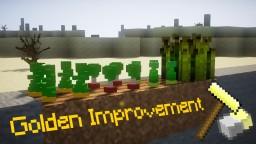 Golden Improvement Pack [1.13] Minecraft Texture Pack