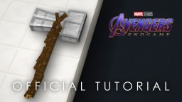 Minecraft Avengers: Endgame - Thor's Stormbreaker (tutorial!) Minecraft Map & Project