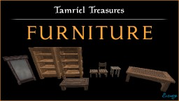 Tamriel Treasures - Furniture Minecraft Texture Pack