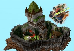 Provanas Server Towny Mini Spawn Minecraft Map & Project
