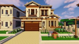 Modern Intricate Homes - Hello 2019 Minecraft Map & Project