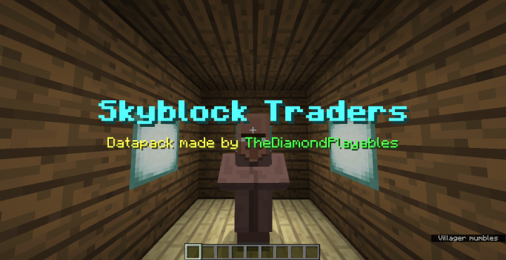 Trade Exotic Items in Skyblock!