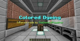 Colored Dyeing - Dye Colored Items [1.14] Minecraft Data Pack