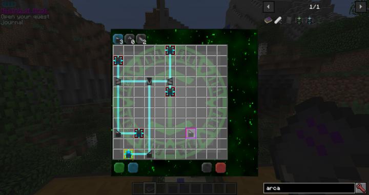 Research Puzzle Mini-Game