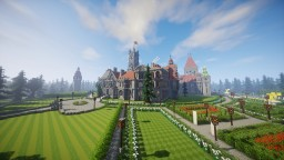 Highpeek Hall The Endless Mansion Minecraft Map & Project