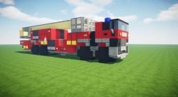 Airport Fire Truck (Ladder, Schiphol) Minecraft Map & Project