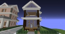Secret Place - House #5 🏡 Minecraft Map & Project