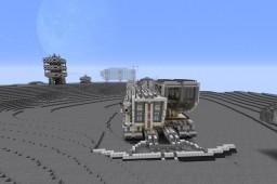 Moon Lunar Base - Mine Logistics Minecraft Map & Project