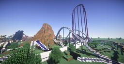 MineLoop (Amusement park/parc d'attractions) 1.12 Minecraft Map & Project