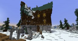 Winter Mansion Teremok Minecraft Map & Project