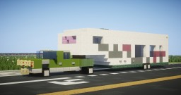 Ford F-350 Pulling Fifth Wheel Camper, AKA my house Minecraft Map & Project