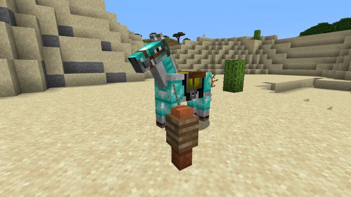 Vanilla Horse armour