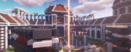 BEAUTIFUL CHERRY BLOSSOM HUB LOBBY Minecraft Map & Project