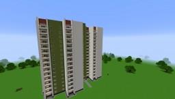Typical house series P-42/Типовой жилой дом серии П-42 Minecraft Map & Project