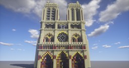 Notre-Dame de Paris Minecraft Map & Project