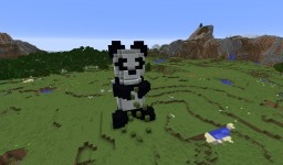 Panda is Sowing Bamboo Seeds (Mystery Title - Spring Edition) Minecraft Map & Project