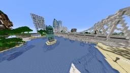 Futuristic City Minecraft Map & Project