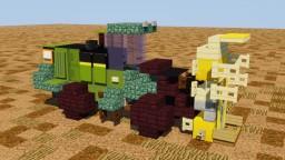 John Deere Feller Buncher Minecraft Map & Project