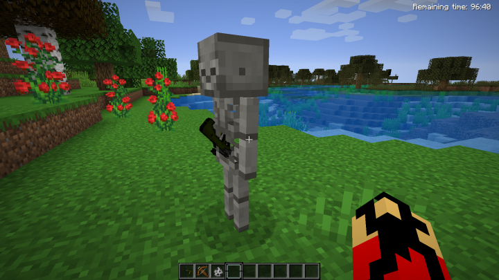 A skeleton With a Gun