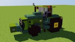 John Deere Tractor Minecraft Map & Project