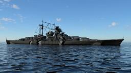DKM Bismarck - 4:1 Scale (Remake) Minecraft Map & Project