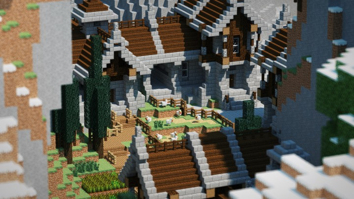 Minecraft dark lbp project share