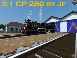 The Light CP 280 Steam Locomotive by Jf Minecraft Map & Project