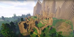Witcher - Kaer Morhen Castle Minecraft Map+DOWNLOAD LINK Minecraft Map & Project