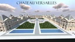Chateau Versailles - A Minecraft Palace Minecraft Map & Project