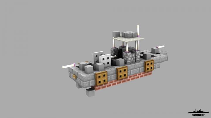 schnellboot  pbr  swiftboat  u0026 elco pt boat 1 1 scale minecraft project