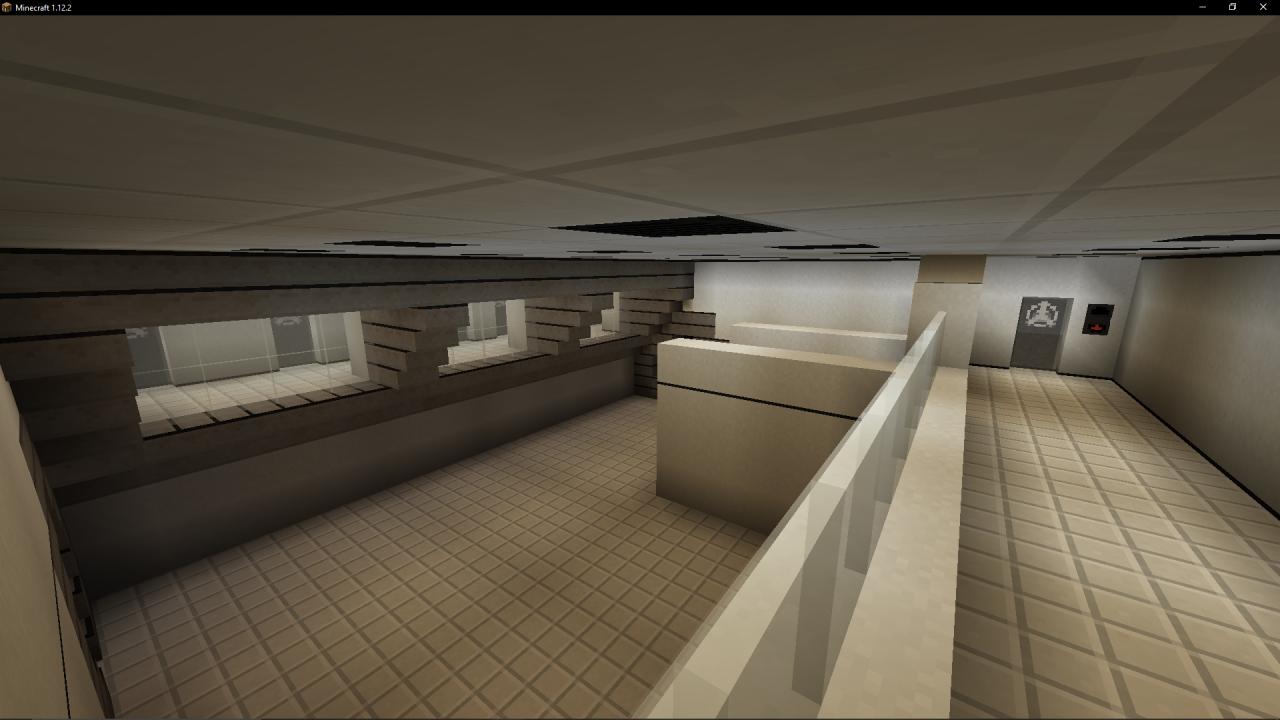 SCP Containment Breach Intro Map Replica! Minecraft Project