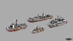 Schnellboot, PBR, Swiftboat & Elco PT boat 1:1 Scale Minecraft Map & Project