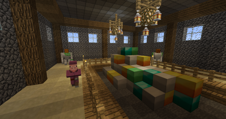 Classic ore block textures, including an old-ified emerald block.
