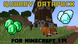 Quarry datapack [1.14+] Minecraft Data Pack