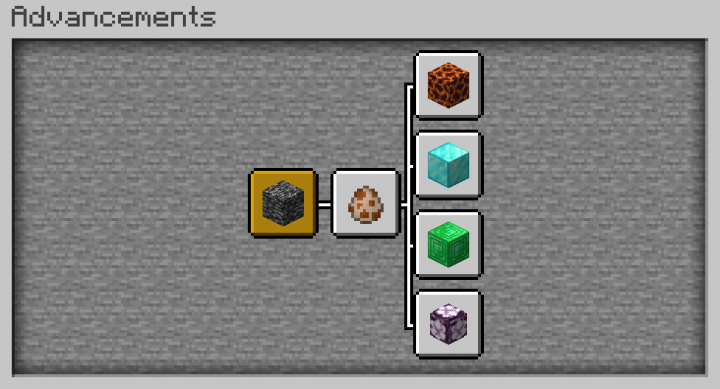 Advancements for the quarry upgrades