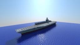 CVN-72 USS Abraham Lincoln Minecraft Map & Project